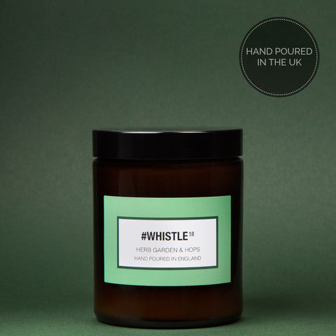 #Whistle - Herb Garden & Hops Luxury Candle - 180 ml
