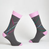 Eye Candy dress socks / Dark grey | Chaussettes Eye Candy / Gris foncé