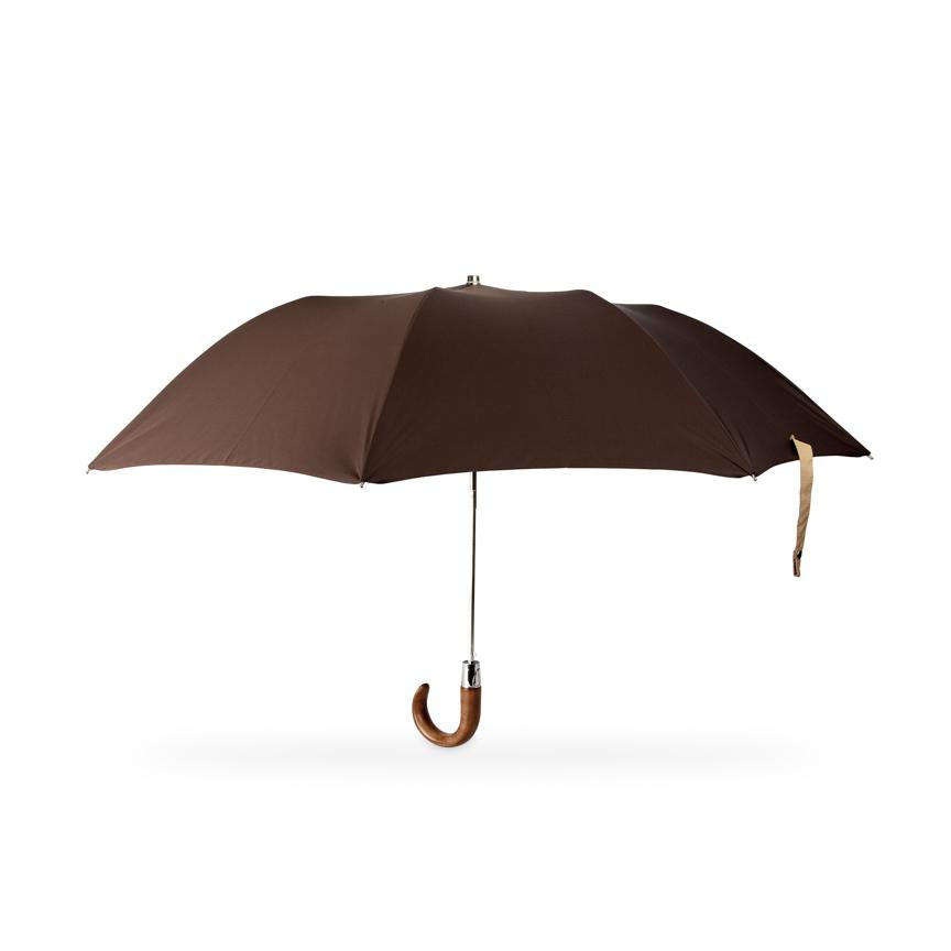 small British folding umbrella for men