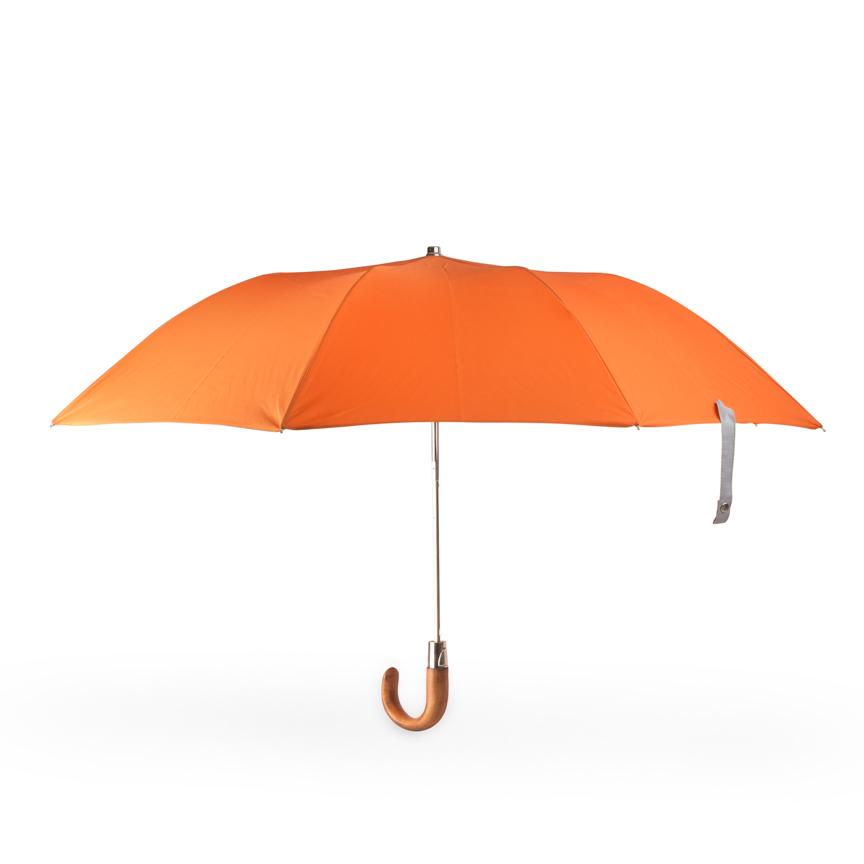 small folding British umbrella