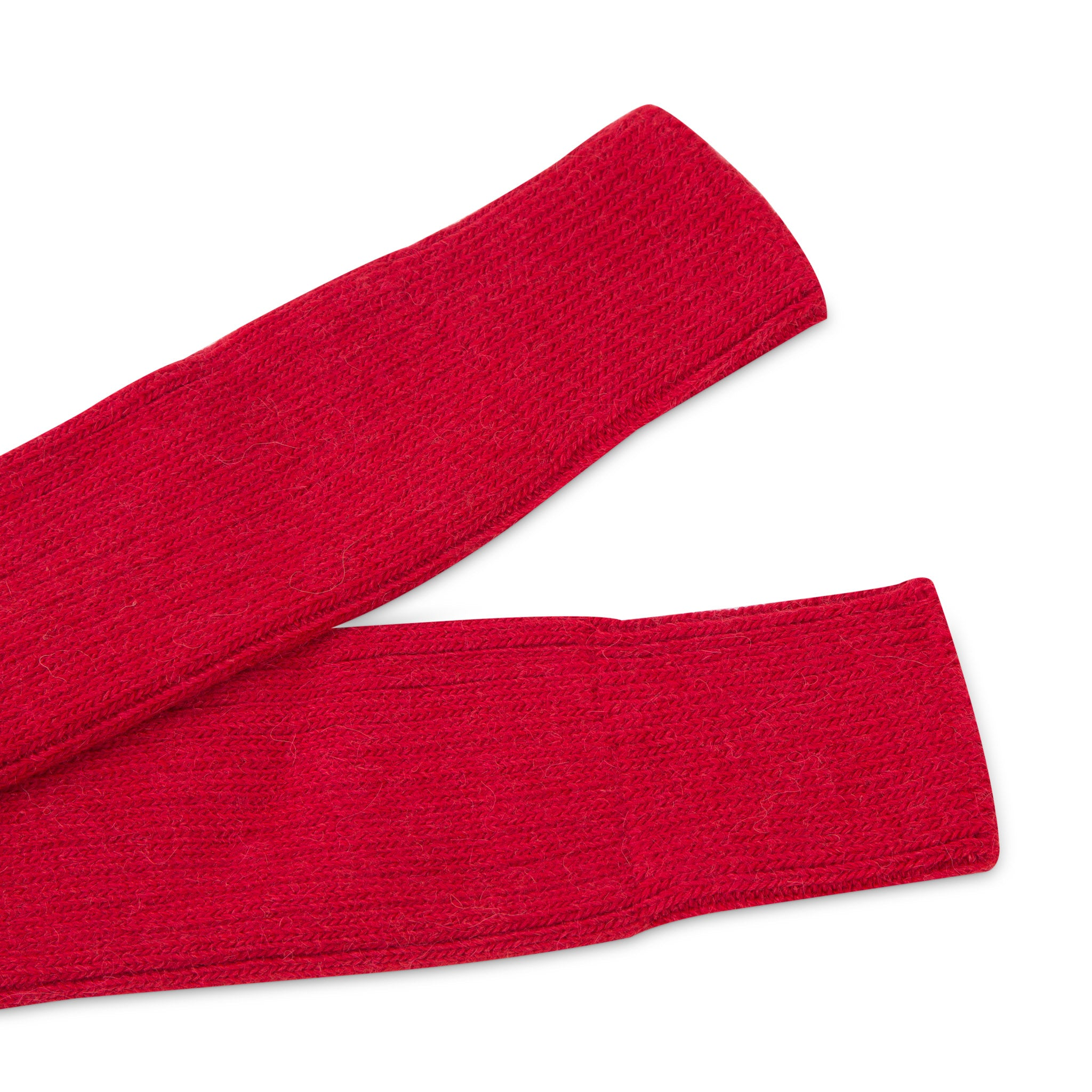 Alpaca walking socks - Rustic Red | Chaussettes de marche en alpaga - Rouge