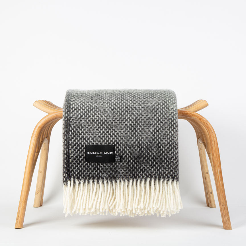 Pure New Wool Home blanket for the sofa