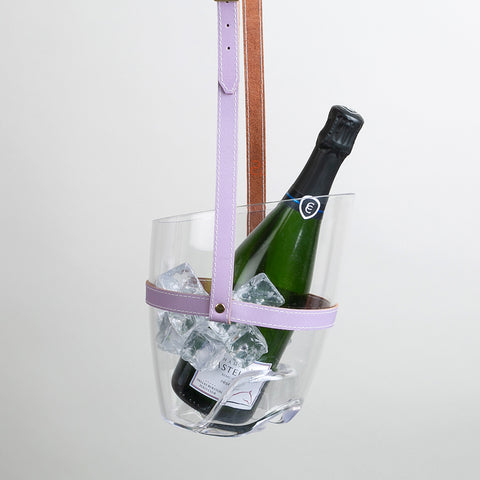 """Keep Your Cool"" Champagne Bucket - Transparent 