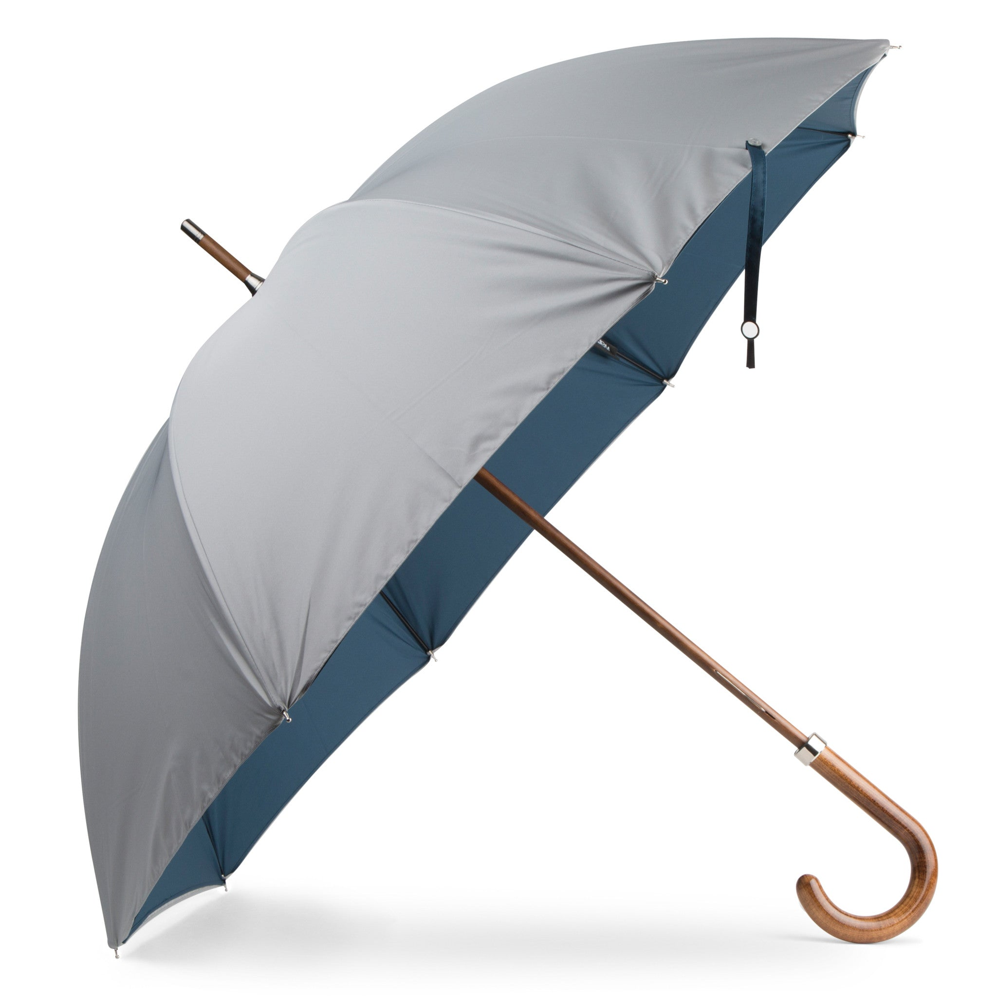 British Umbrella, Beech & Maple - Grey/Mallard | Parapluie Anglais, Hêtre & Erable - Gris/Colvert