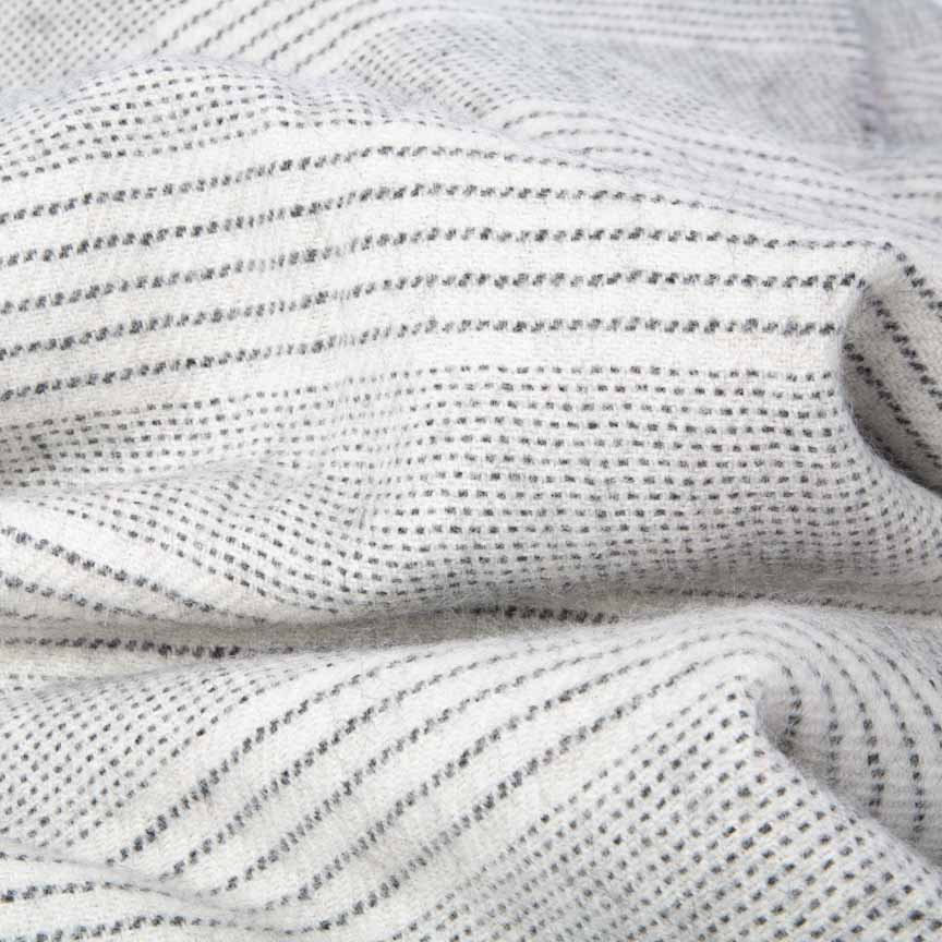 natural coloured home throw