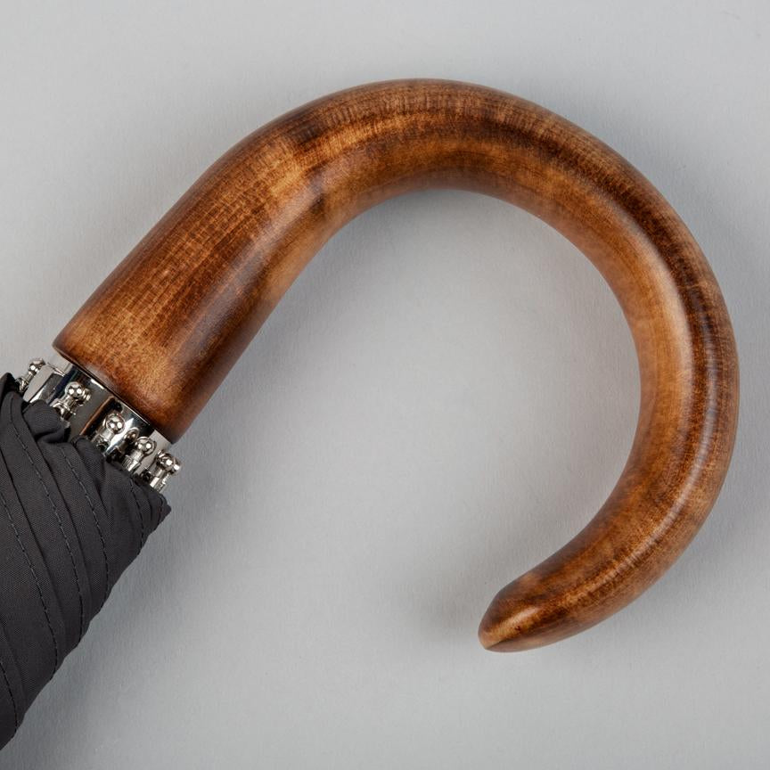 scorched maple curved umbrella handle