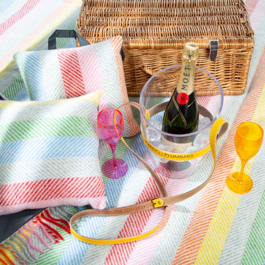 The Heating & Plumbing London Ultimate Picnic Toolkit -  Rainbow