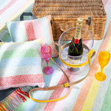 large picnic throw for garden and parks in multicolour