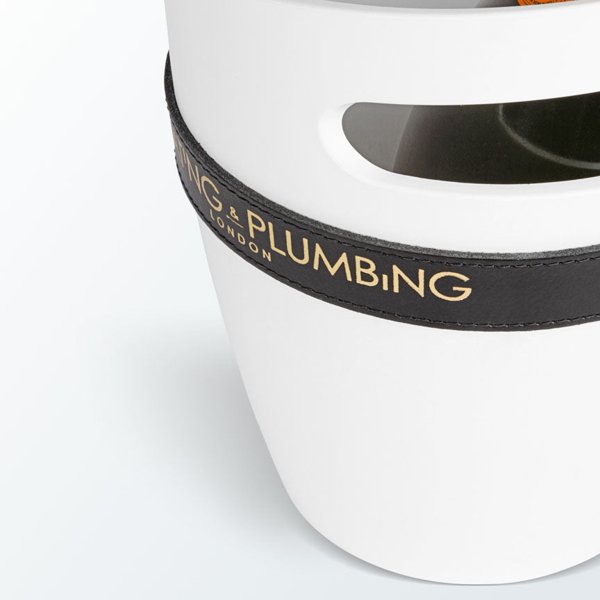 """Keep Your Cool"" Champagne Bucket - White 