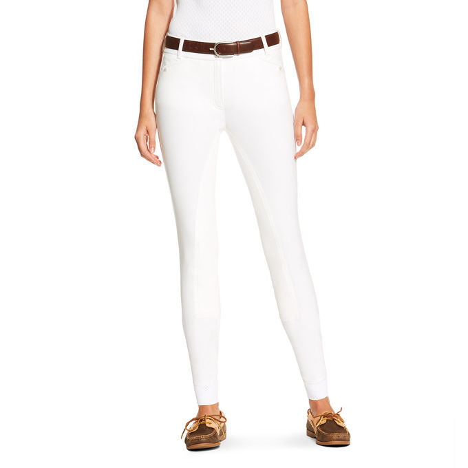 Ariat Heritage Elite Fullseat Breech - White
