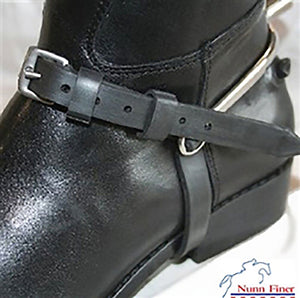 Easiest Spur Straps Yet - Black