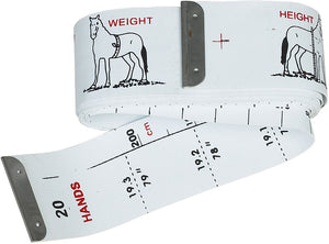 Roma Horse Weight/Height Measurement Tape
