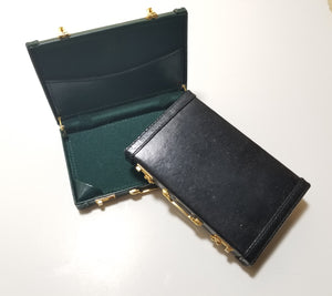 Mini briefcase business card holder the tack shop mini briefcase business card holder colourmoves