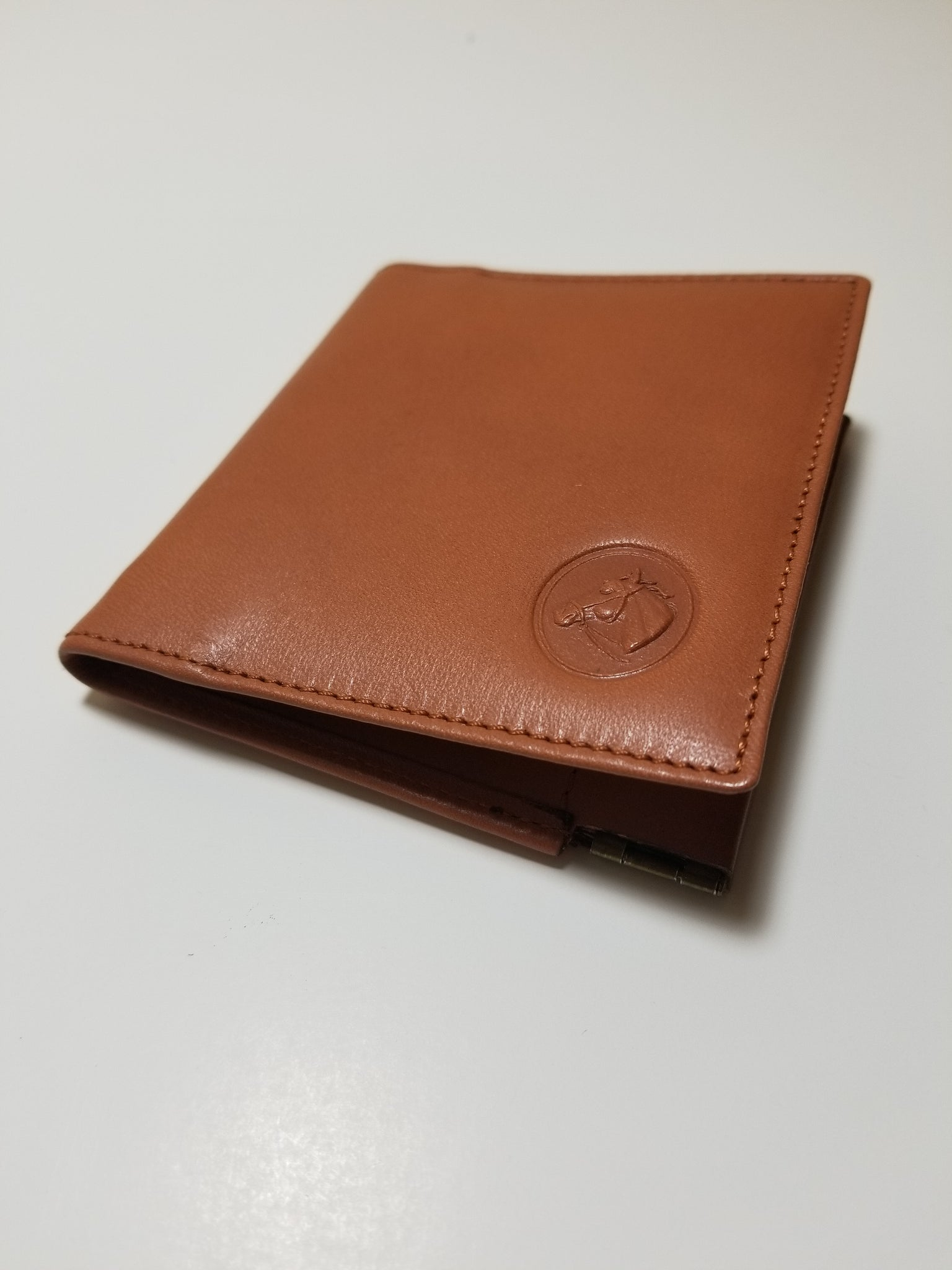 Leather Bill Fold with Money Clip
