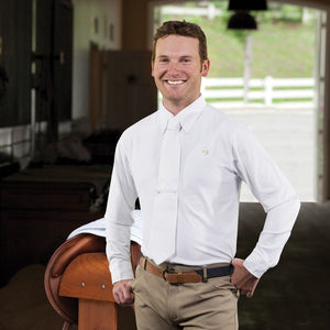 Romfh Competitor Long Sleeve Show Shirt - White