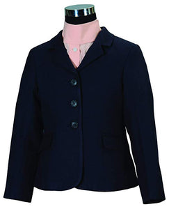 Youth- Start Plus Show Coat, Navy