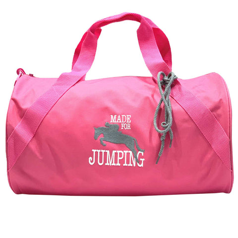 """Made for Jumping"" Duffle - Hot Pink"
