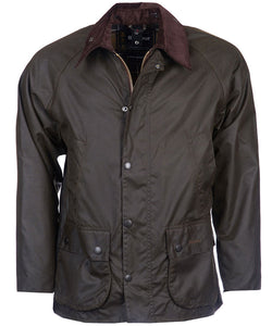 Barbour Classic Bedale Wax Jacket in Olive