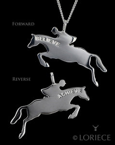 Believe & Achieve Hunter/Jumper Necklace