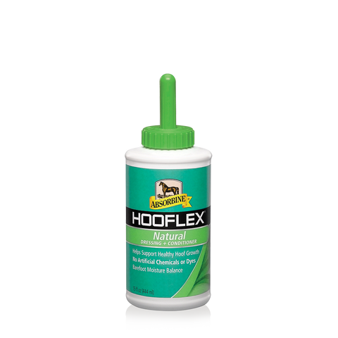 Hooflex Natural Conditioner W/ Brush- 5 Oz