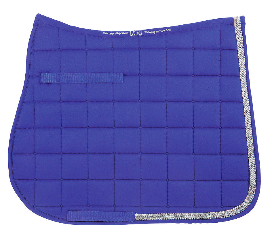 USG Baroness Dressage Pad - Royal Blue
