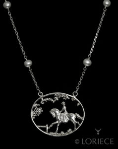 Ride in the Park Necklace