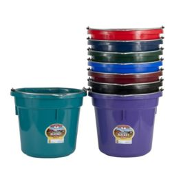 Duraflex 20 Quart Flat Back Bucket