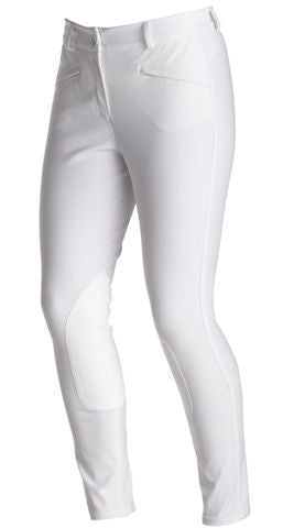 Ariat Performer Regular Rise Breech - White
