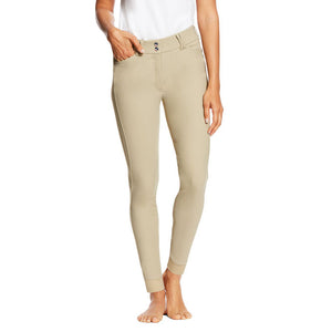 Ariat Tri Factor EQ Grip Knee Patch Breech - Tan