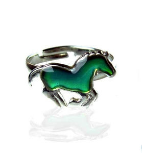 Galloping Horse Mood Ring