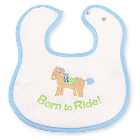 Baby's Born-To-Ride Bib
