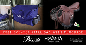 Bates Advanta Monoflap Eventing SAddle