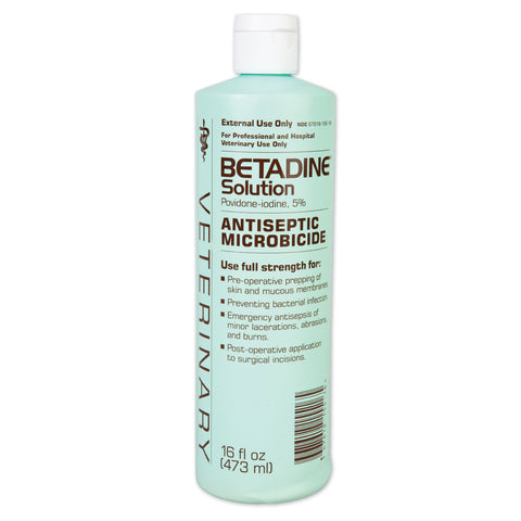 Betadine Solution - 16 Oz