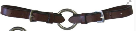 Leather Bit Converter Pair w/ Rein Ring