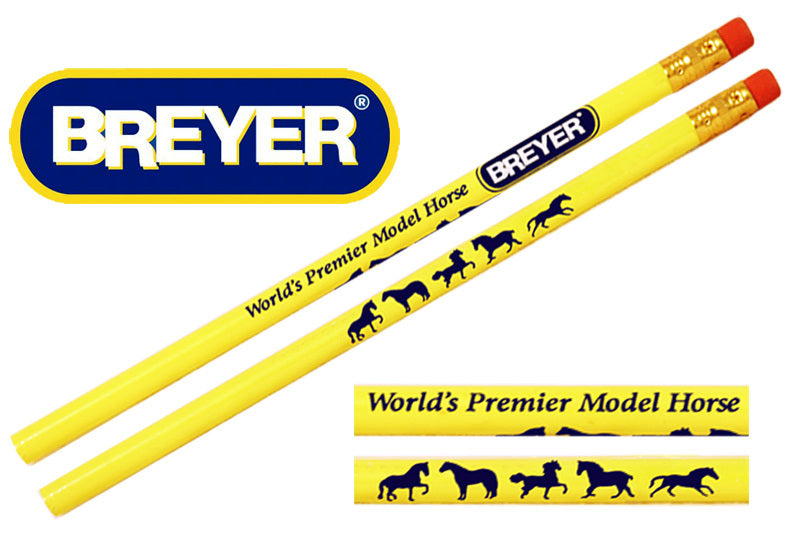 Breyer Pencils - Yellow