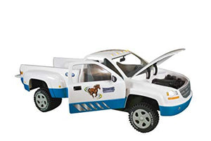 Breyer Dually Pickup Truck, White/Blue