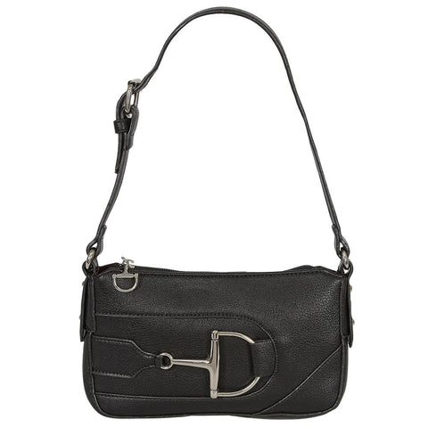 Dee Bit Snaffle Purse - Black