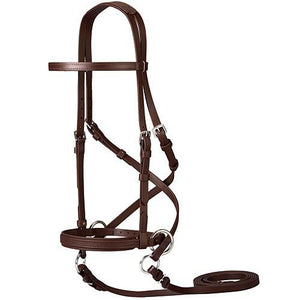Dr. Cook's Beta Bitless Bridle - Brown