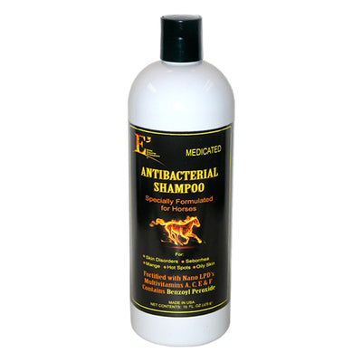 E3 Medicated Antibacterial Shampoo - 16 Oz