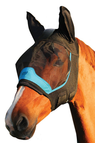 Woof UV Fly Mask with 3D Ears