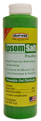Epsom Salt Poultice Gel (Squeeze Bottle) - 20 Oz
