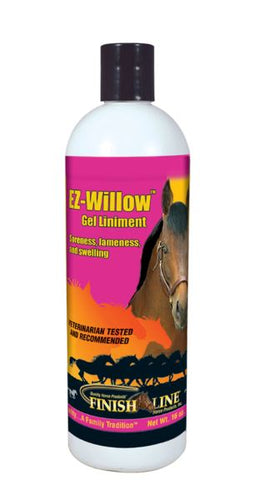 Finish Line EZ Willow Gel Liniment, Pint