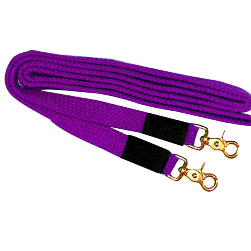 Intrepid Flat Nylon Braided Reins