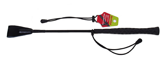 Horse Fare Riding Crop Wrist Loop - Black