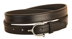 Tory Spur Buckle Leather Belt