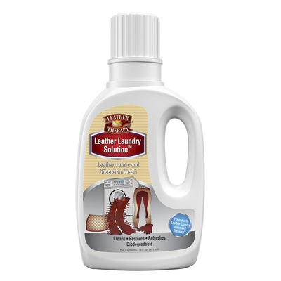 Leather Therapy Leather Laundry Solution - 20 Oz