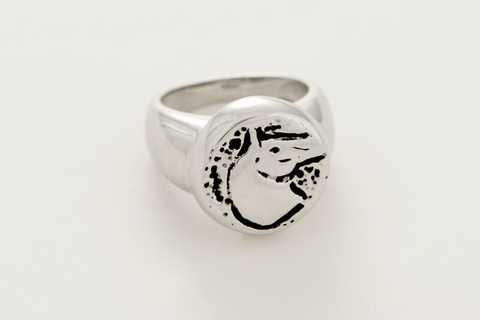 Horse Head Ring