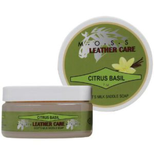 Moss Leather Care Goat's Milk Saddle Soap
