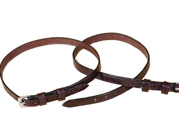 Red Barn Leather Spur Straps