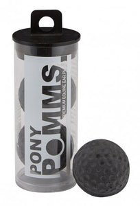 Pomms Premium Equine Ear Plugs - Black
